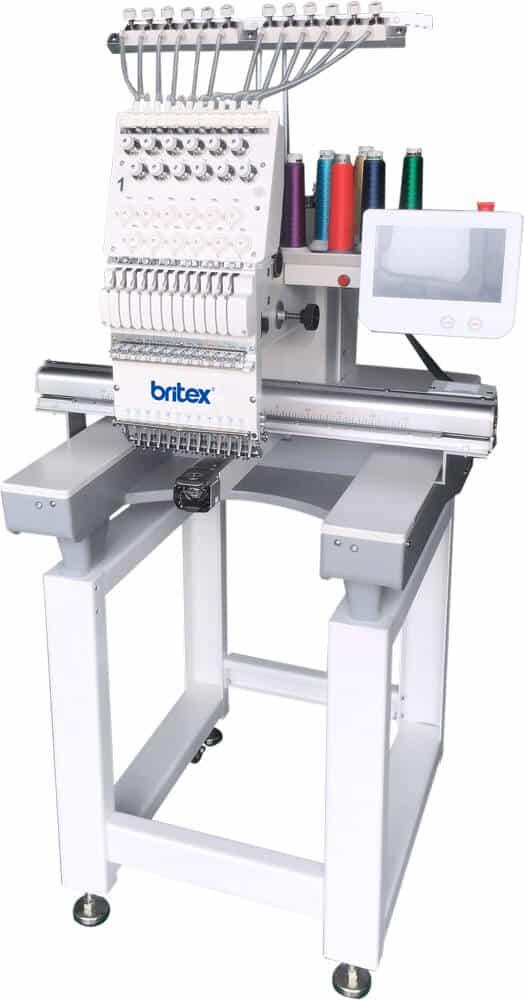 Промышленная вышивальная машина Britex BR-1201J поле 530*350 мм