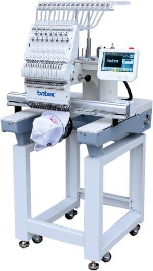 Промышленная 15-игольная вышивальная машина Britex BR-1501J