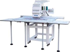 Промышленная вышивальная машина Britex BR-1501L поле вышивки 1200x500 мм
