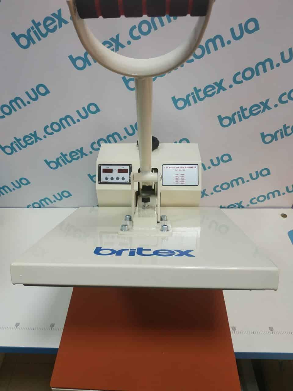 Термопресс промышленный Britex BR-38