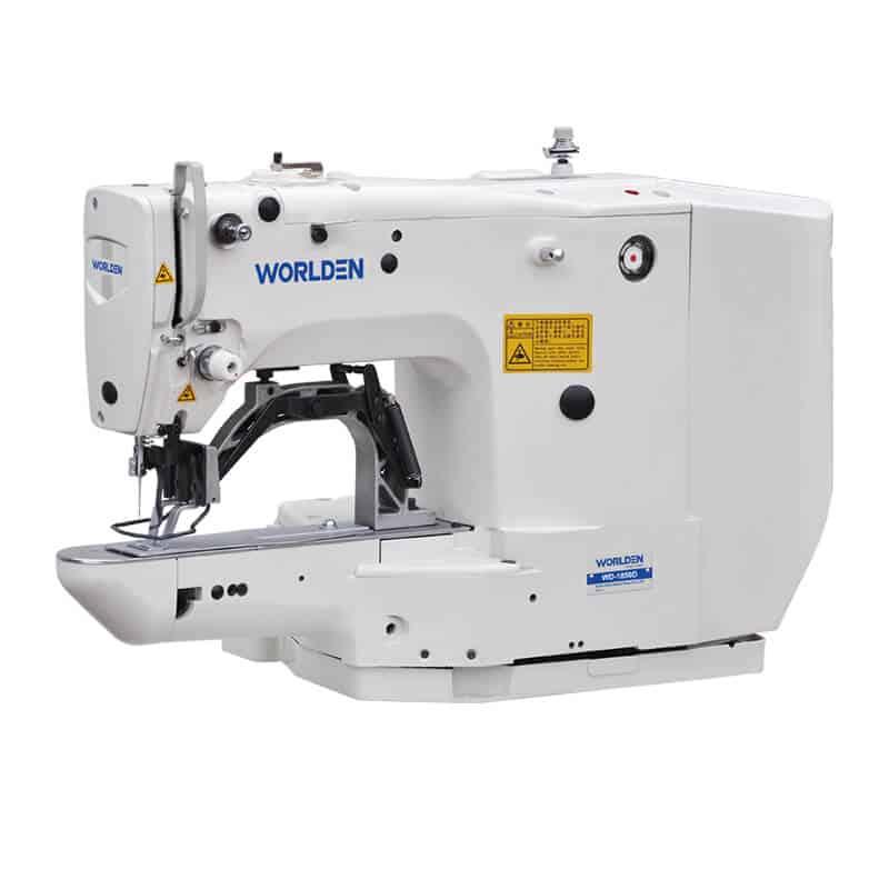 Закрепочная промышленная швейная машина с прямым сервоприводом Worlden WD-1850 D