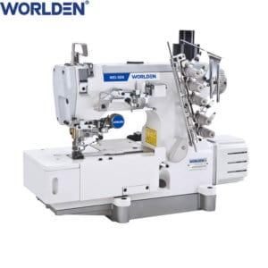 Распошивальная промышленная швейная машина с прямым сервоприводом и автоматикой Worlden WD-500-01CB-DA