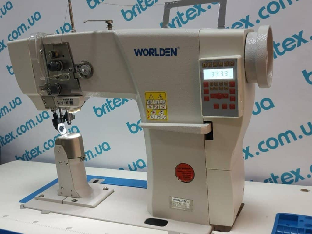 Колонковая промышленная машина с прямым приводом и автоматикой Worlden WD-591D