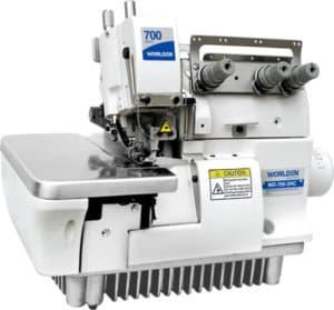 Оверлок промышленный микро-оверлок (рулик) с прямым сервоприводом Worlden WD-700D-3-HC