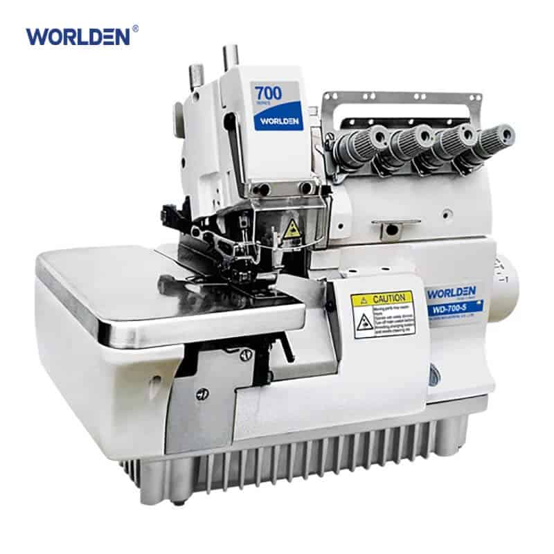 Оверлок промышленный 5-ти ниточный с прямым приводом Worlden WD-700D-5H
