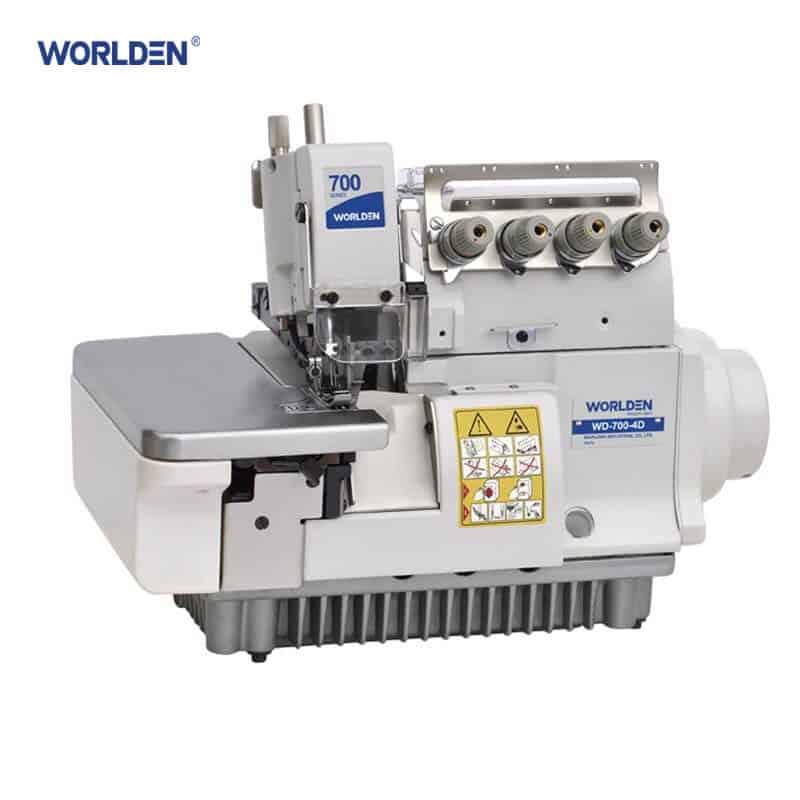 Оверлок промышленный четырехниточный с прямым сервоприводом Worlden WD-700D