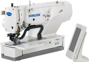 Электронная петельная промышленная машина Worlden WD-1790