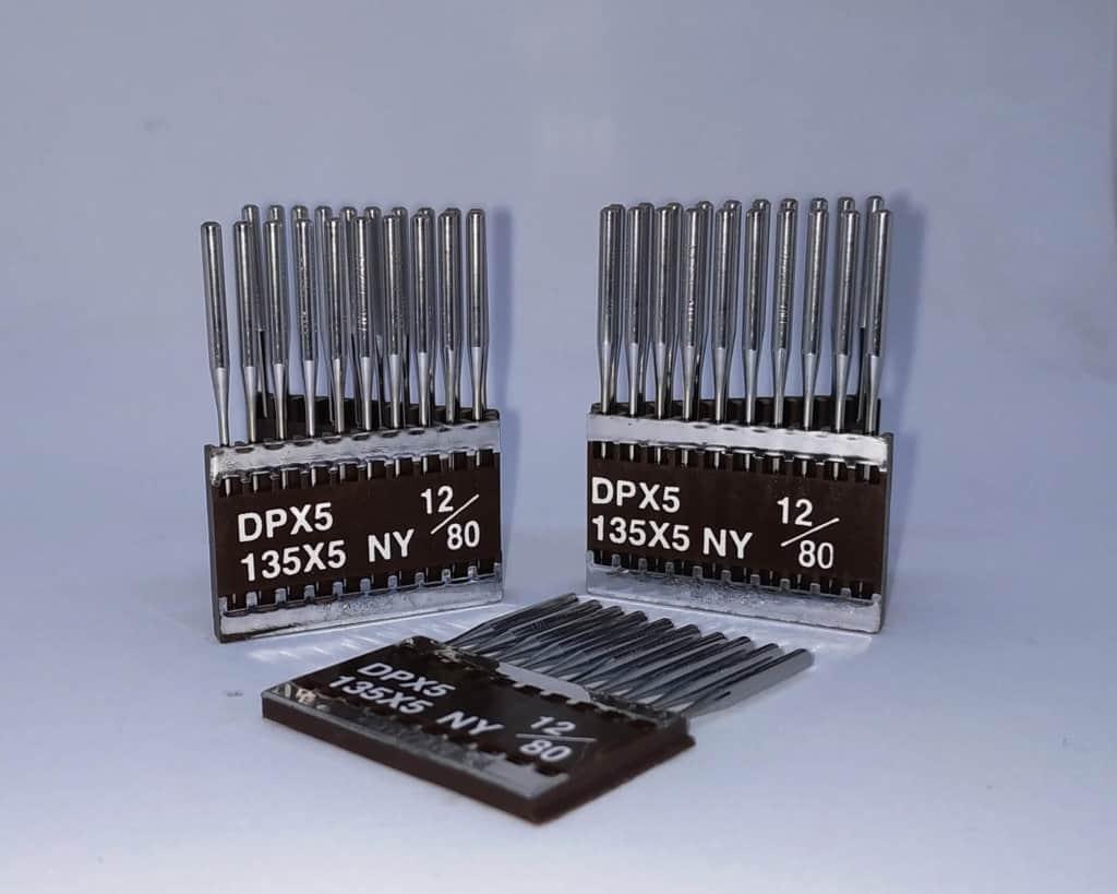 Иглы DPx5 №80/12 CM (с керамичеcким покрытием)