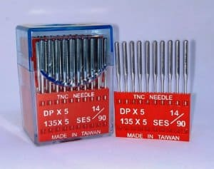 Иглы DPx5 №90/14 ses (для трикотажа)