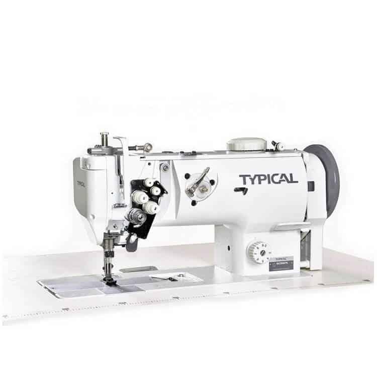 Прямострочная двухигольная промышленная машина Typical GC-20676