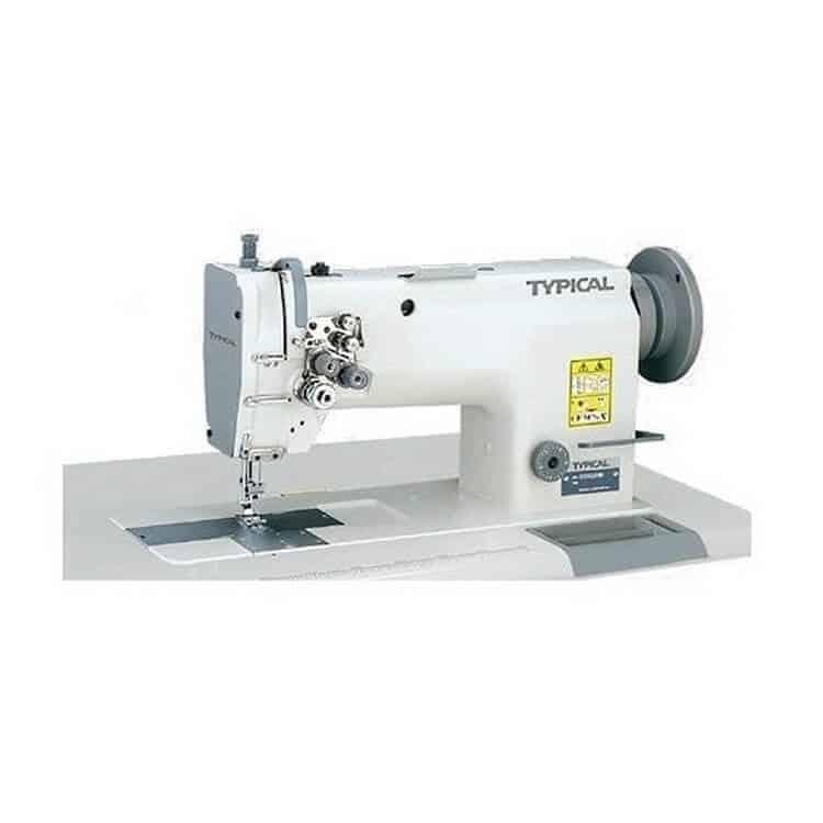 Прямострочная двухигольная промышленная машина Typical GC-6220В