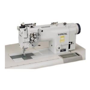 Прямострочная двухигольная промышленная машина Typical GC-6240В