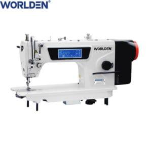 Прямострочная промышленная машина с прямым сервоприводом и автоматикой, легкие и средние ткани Worlden WD-W5 на 5 мм