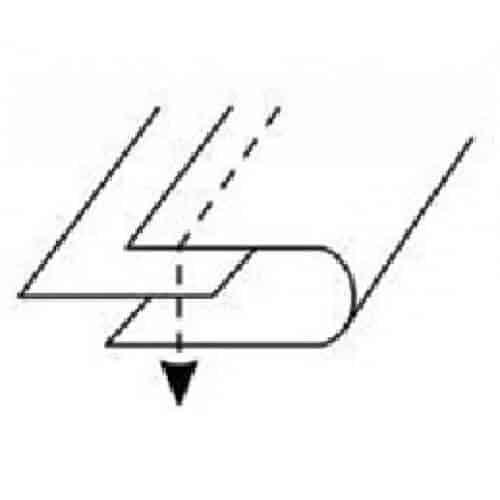 Окантователь A-4 в 2 сложения 5/8 (16 мм)