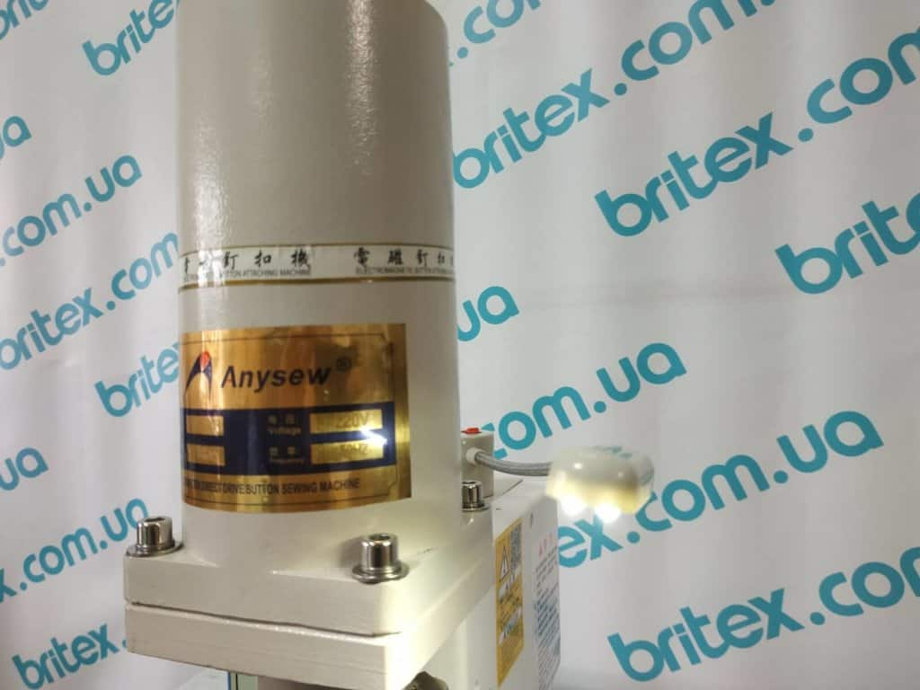 Пресс для установки фурнитуры электромагнитный Anysew  AS-1808