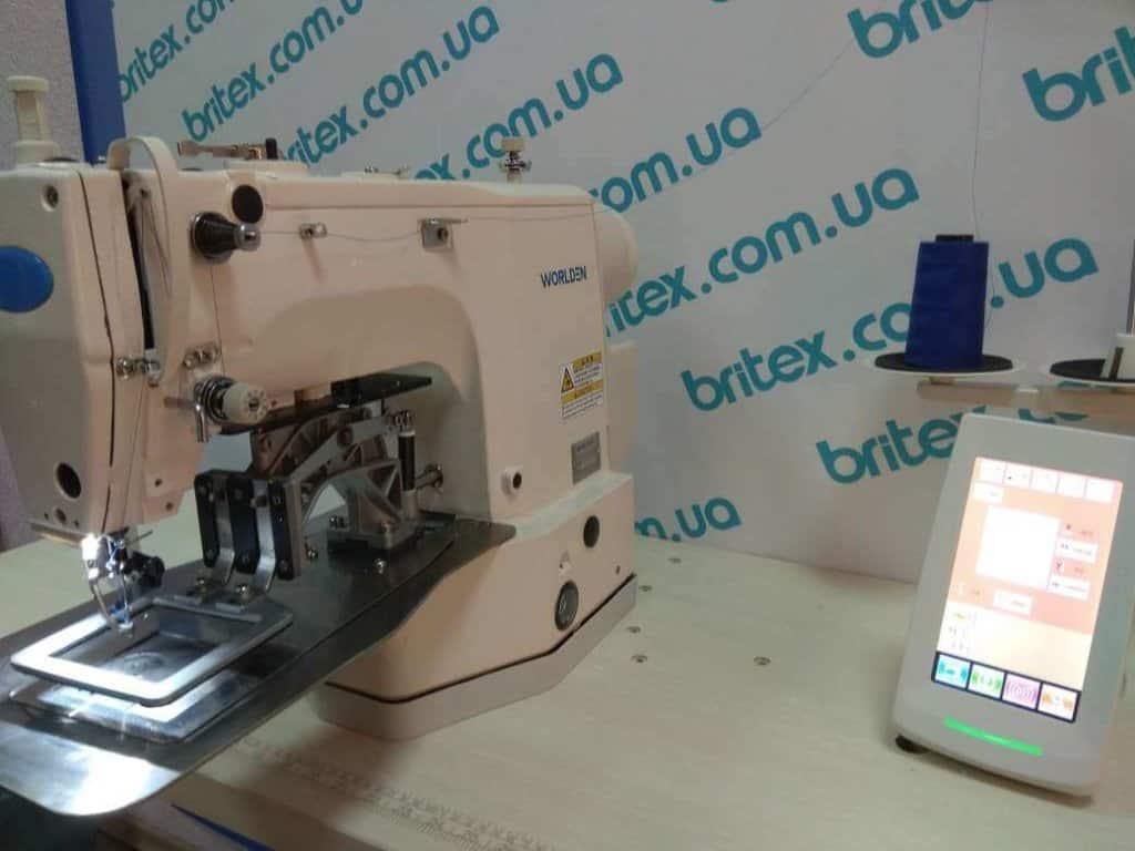 Закрепочная промышленная швейная машина с прямым приводом Worlden WD-436D