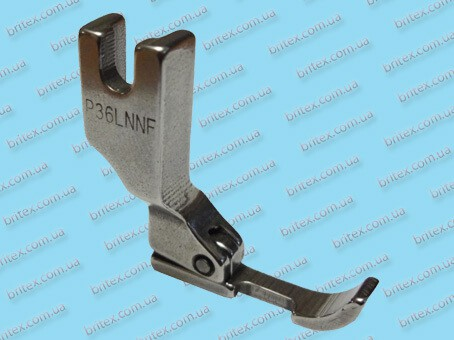 Лапка для молнии на безпосадочные машины P36LN-NF