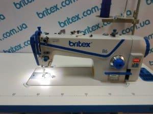 Прямострочная промышленная швейная машина с прямым сервоприводом, средние и тяжелые ткани Britex-B6 H