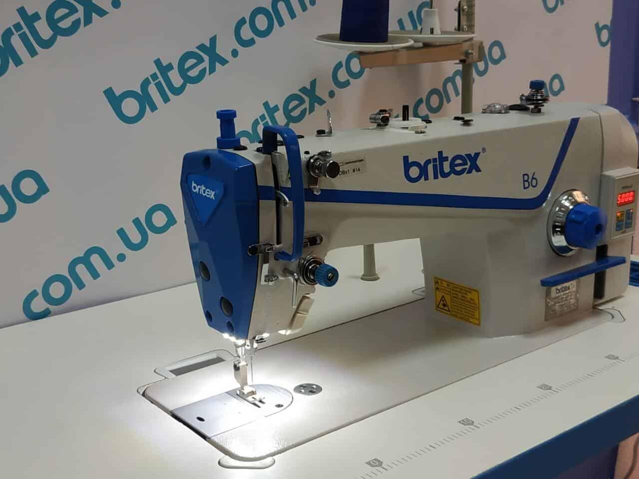Промышленная прямострочная машина Britex B6