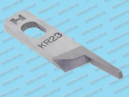 Верхний нож для оверлока KR23 «Strong H»