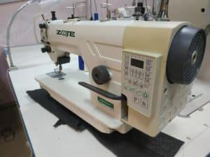 Прямострочная промышленная машина с прямым сервоприводом и автоматикой ZOJE 9703AR-D3/01/PF