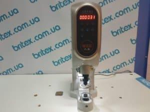 Пресс для установки фурнитуры сервоударный Britex  WHM-818T