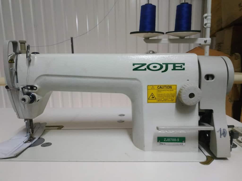 Прямострочная машина ZOJE ZJ-8700-H голова+стол,Б/У