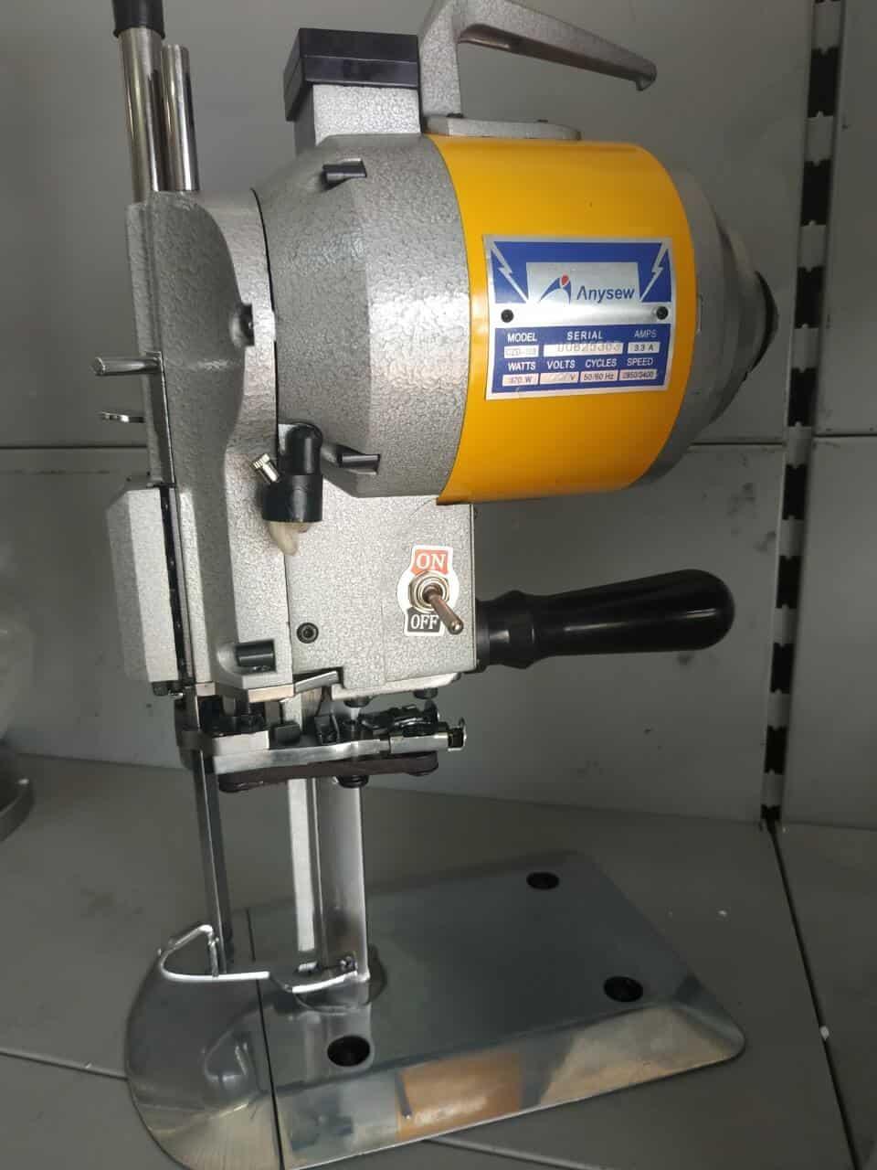 Вертикальный раскройный нож Anysew CZD-103 5″ 370W
