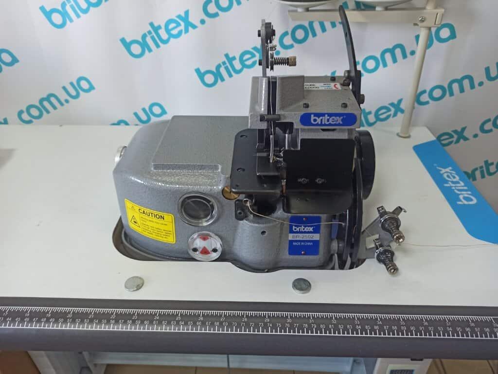 Оверлок ковровый промышленный двухниточный Britex 2502 без боковой обрезки