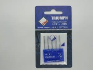 Иглы для бытовых машин для джинса и плотных тканей TNC HA*1 130/705 H 14/90