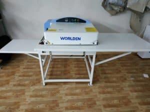 Термопресс промышленный дублирующий проходного типа Worlden WD 500MS