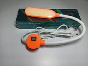 Светильник с гибкой шеей на магните(6W) оранжевый