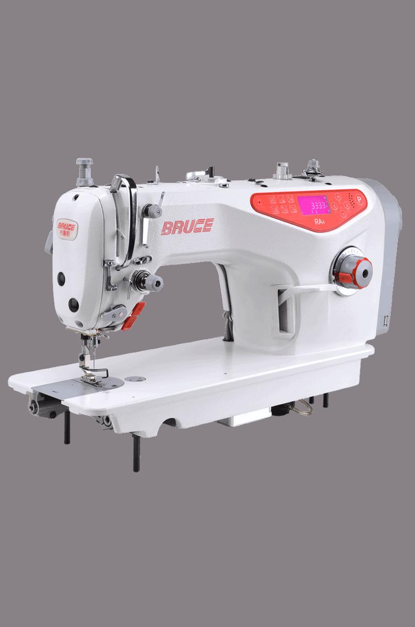 Прямострочная промышленная машина с прямым сервоприводом и автоматикой, легкие и средние ткани Bruce RA4