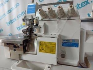Оверлок промышленный четырехниточный с прямым сервоприводом MAQI LS 798D-4-24