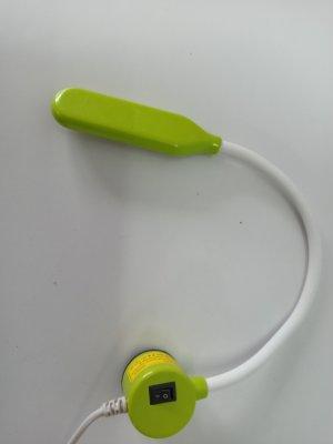 Светильник с гибкой шеей на магните для швейных машин(6W)-салатовый