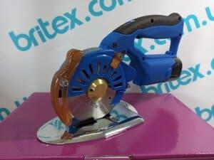 Дисковый раскройный сервонож Britex BR-100CD на аккумуляторе