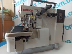 Оверлок промышленный 6-ти ниточный Bruce X5-6-03/233 с прямым приводом