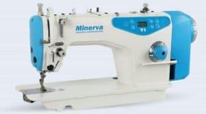 Прямострочная промышленная швейная машина с прямым приводом Minerva M-Y1 на 7 мм