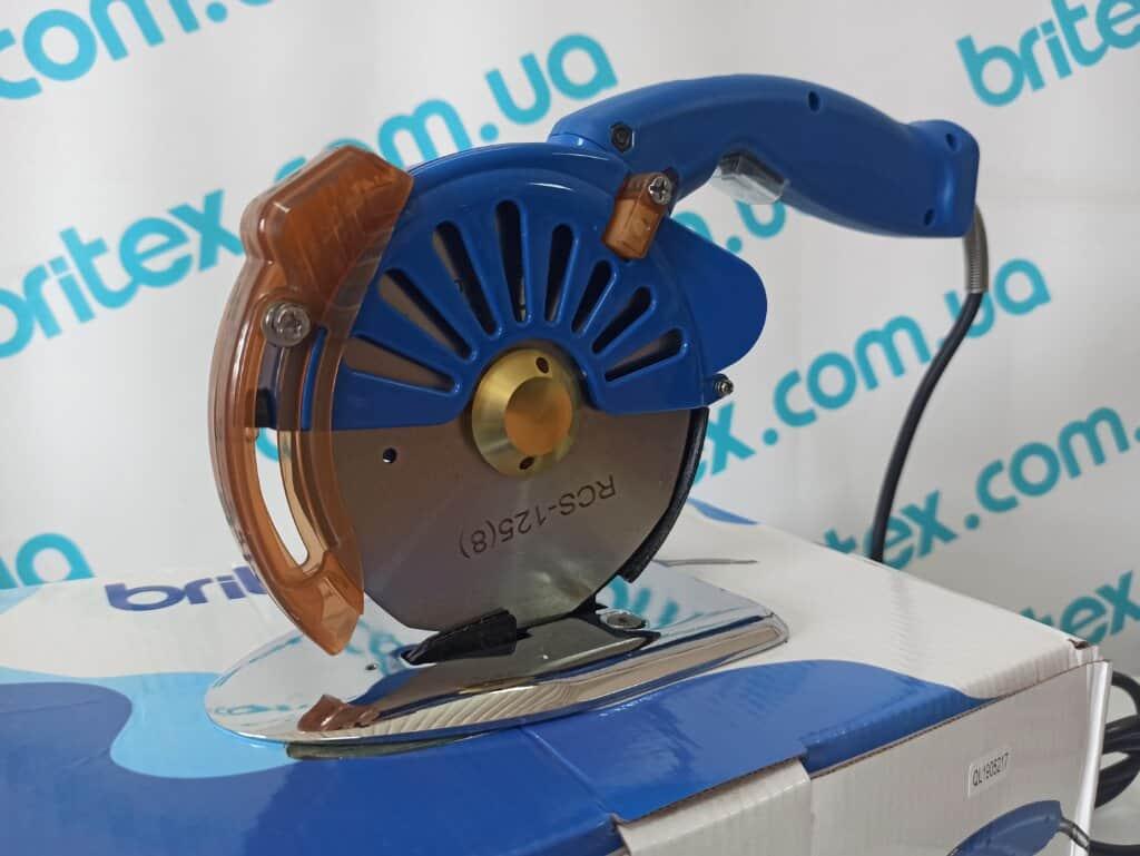 Дисковый раскройный сервонож Britex BR-125D