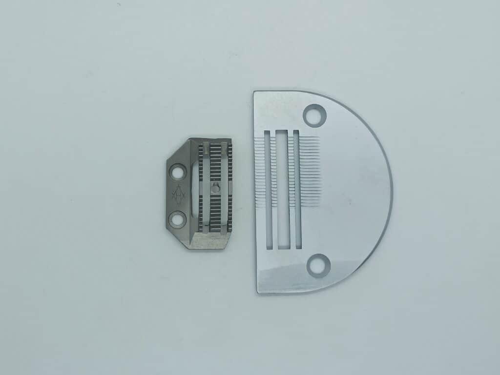 Игольная пластина+зубья для машин с игольным продвижением