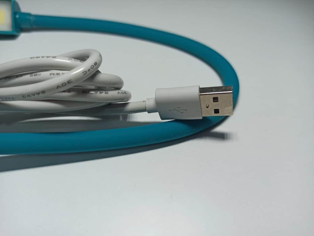 Светильник с гибкой шеей на магните для швейных машин 6W,USB
