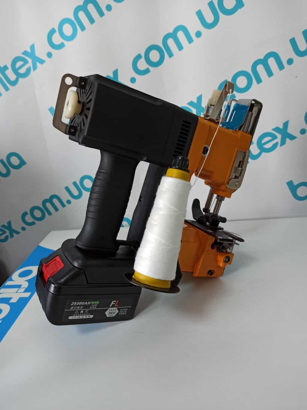 Мешкозашивочная машина GK9-900D на аккумуляторе