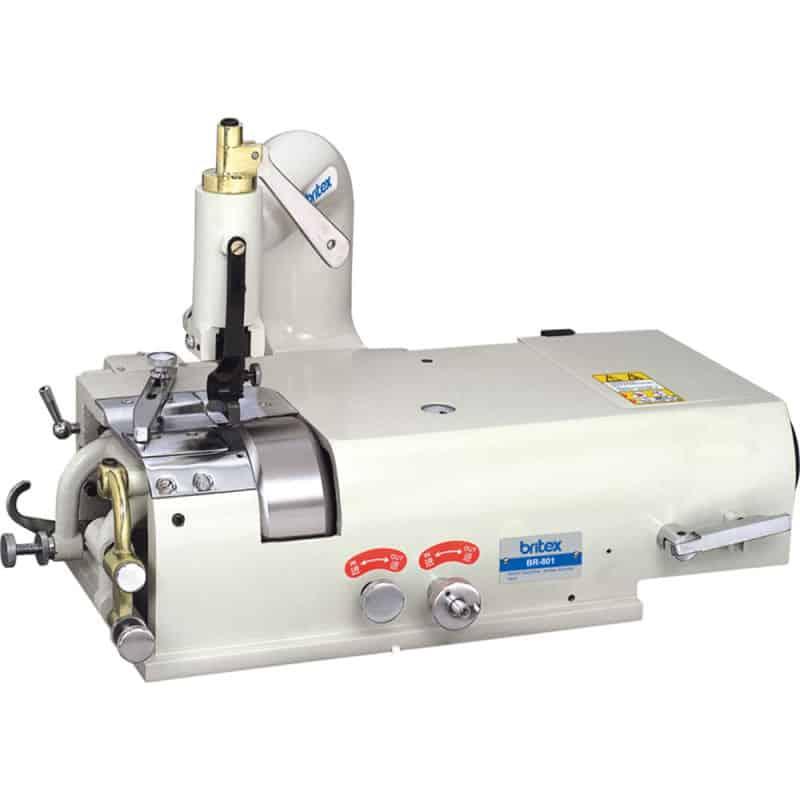Брусовочная промышленная машина для спуска края кожи Britex BR-801(комплект)