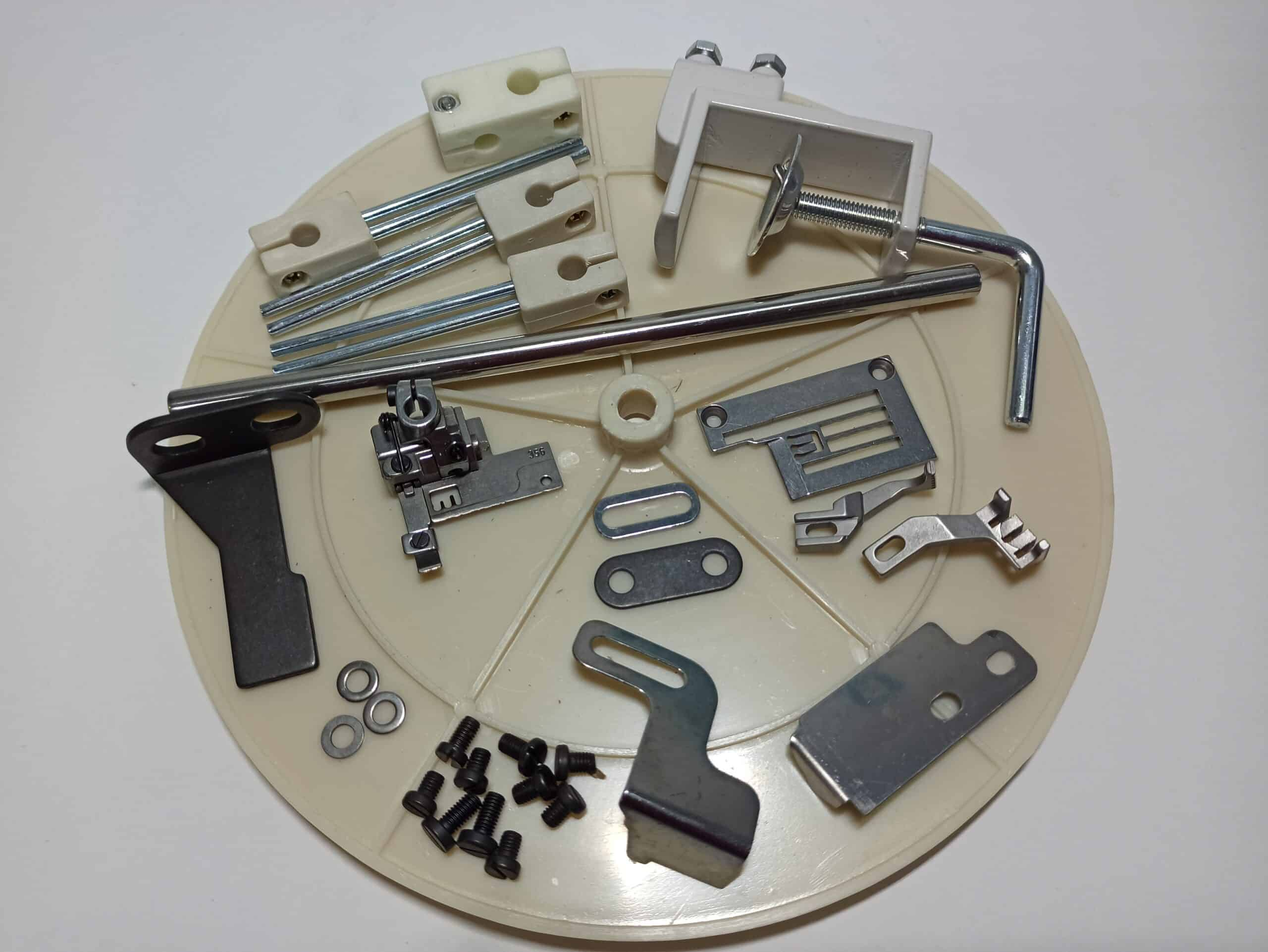 Распошивальная промышленная швейная машина с прямым сервоприводом BR-500-03FQ-D(2 в 1)