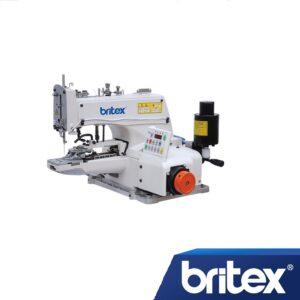 Пуговичная промышленная швейная машина с прямым сервоприводом Britex BR-1377D